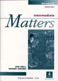 Matters Intermediate WB   w/key